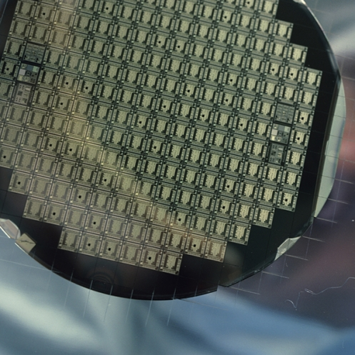 Integrated optical component wafer